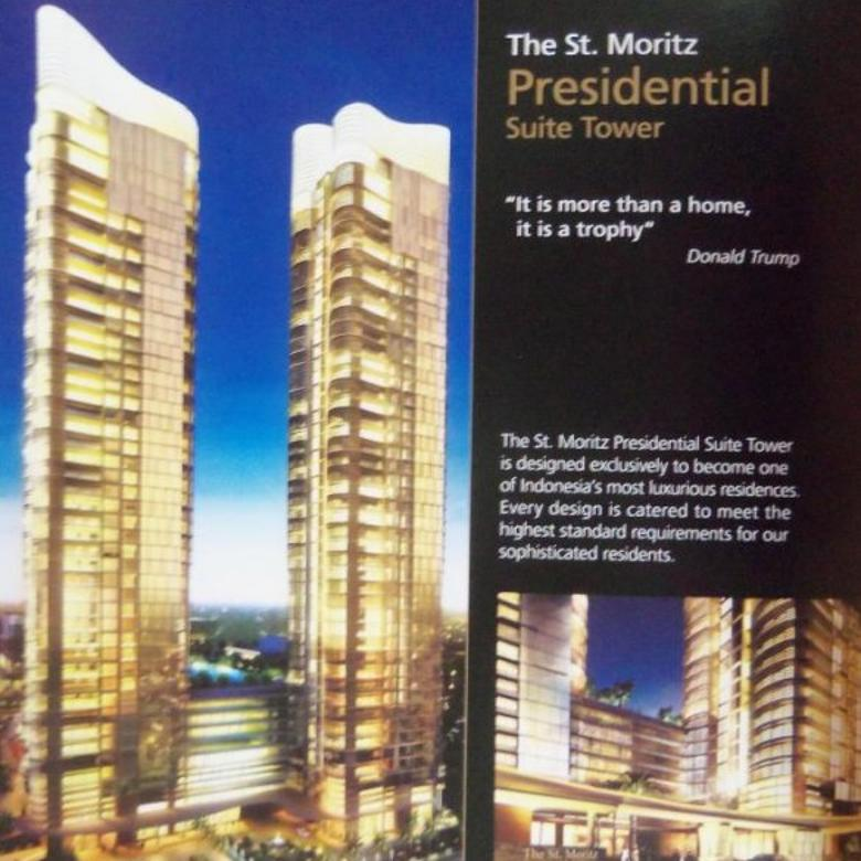 Dijual Apartment St. Moritz Tower New Presidential 2 BR