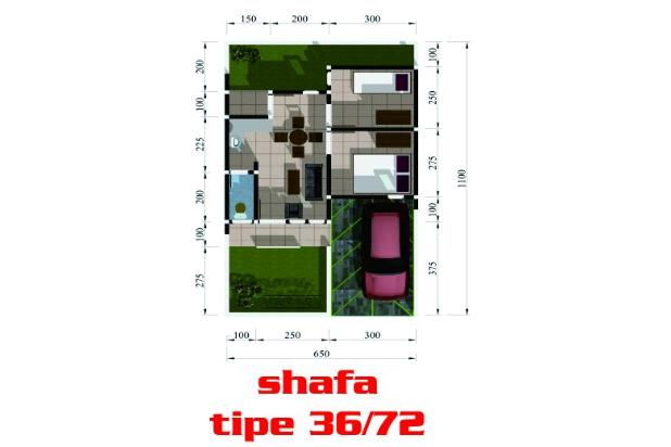 Rp334jt Rumah Dijual