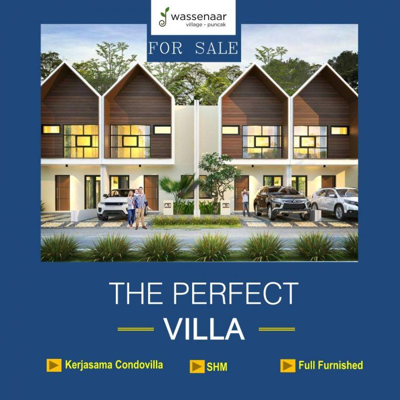 Jual Villa 2 Lantai Murah 400 Jt-an View Kebun Teh 1000ha