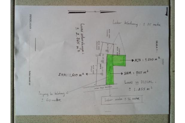 Rp10,6mily Tanah Dijual