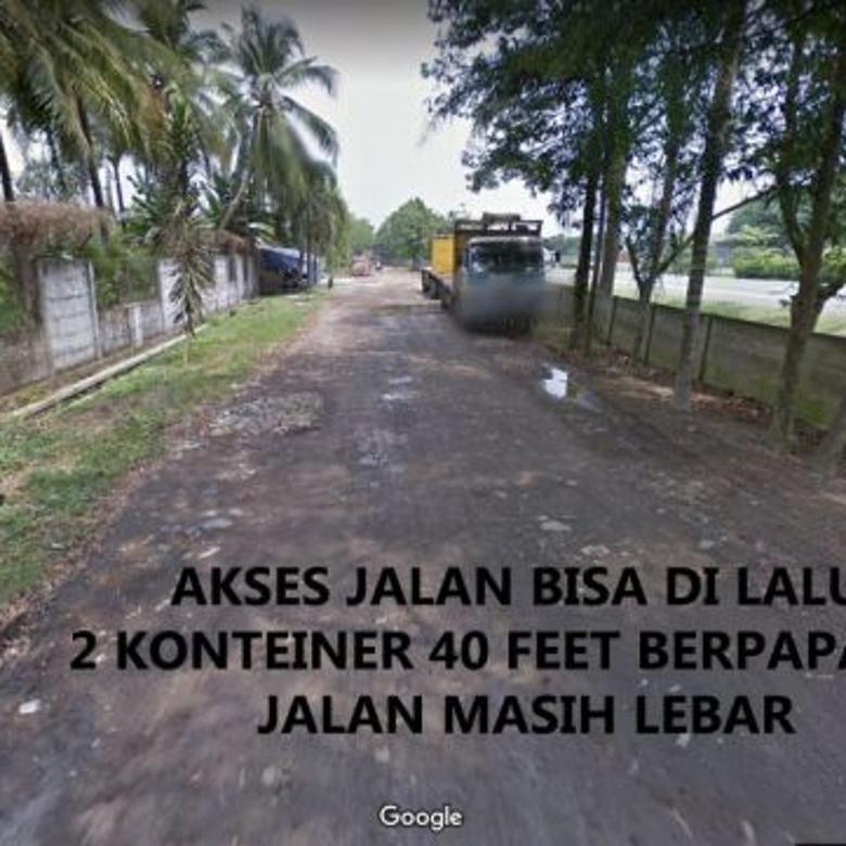 Tanah Industri 2,5 Ha Pinggir Jalan Tol Balaraja 1,35 juta/m2