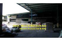 Pabrik Kapuk Kamal - Jakut : LT 24.750 m2, LB 13.000 m2, SHM