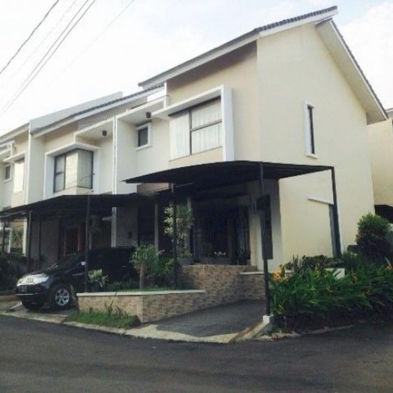 Dijual Rumah Cantik Siap Huni Hoek Strategis Di Serpong Tangerang Selatan