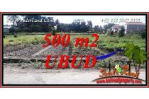Under Market Price 500 sqm in Sentral Ubud