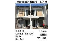 Rumah murah Mulyosari Utara Surabaya Minimalis Nego