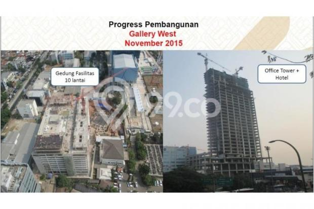 Gallery West Office Kebun Jeruk Jakarta Barat Sisa 3 Unit Handover q3 2016 5453943