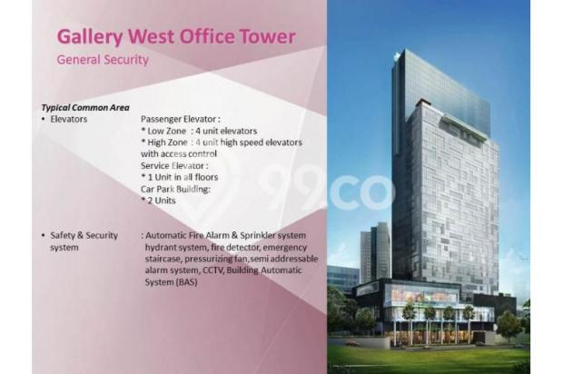 Gallery West Office Kebun Jeruk Jakarta Barat Sisa 3 Unit Handover q3 2016 5453954