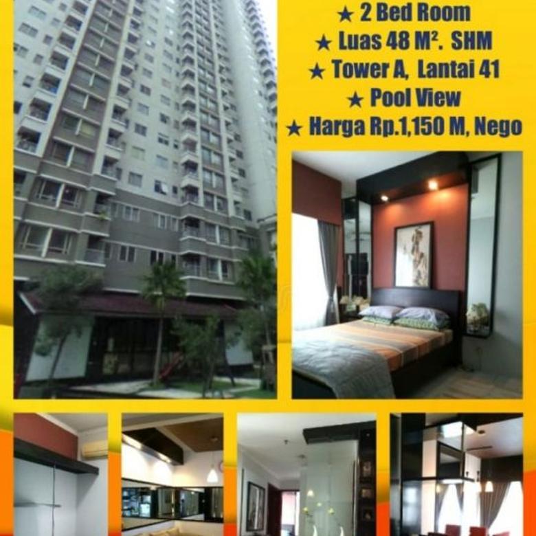 Dijual Murah 2 BR Apartemen  Sudirman Park - Karet Tengsin
