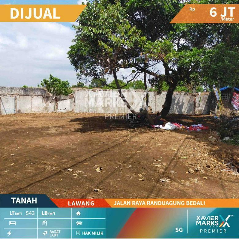 Tanah Nol Jl Raya Randuagung Bedali Lawang