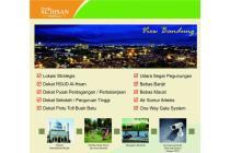 Rumah minimalis di Baleendah Bandung timur, bebas banjir, view Kota Bandung