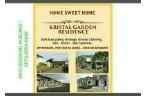 kristal garden cibinong booking 5 jt all in tanpa dp