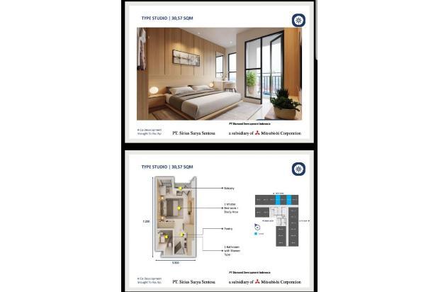 Rp536jt Apartemen Dijual