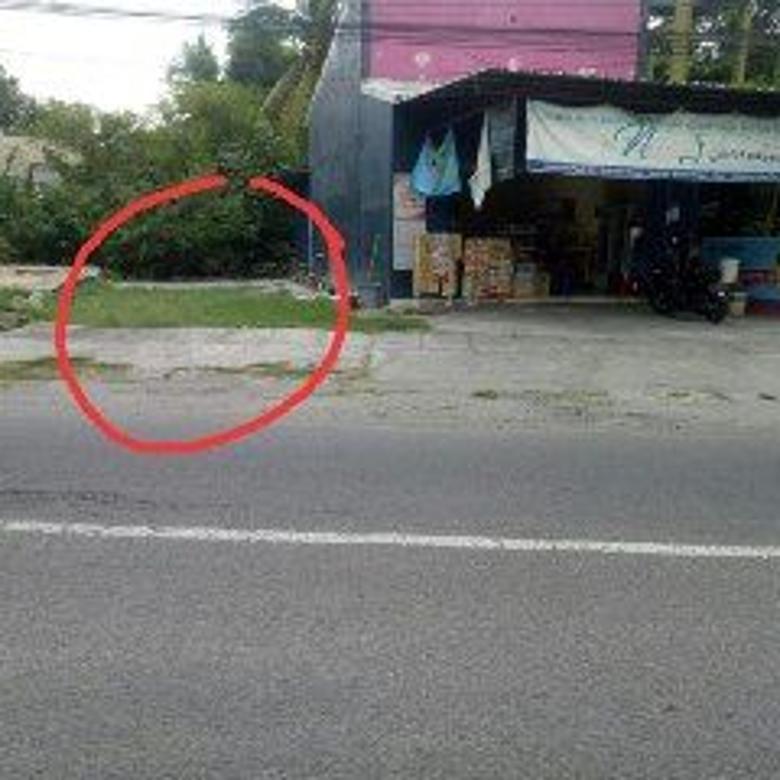 DIJUAL CEPAT TANAH inggir jalan di Bangunjiwo Kasihan Bantul