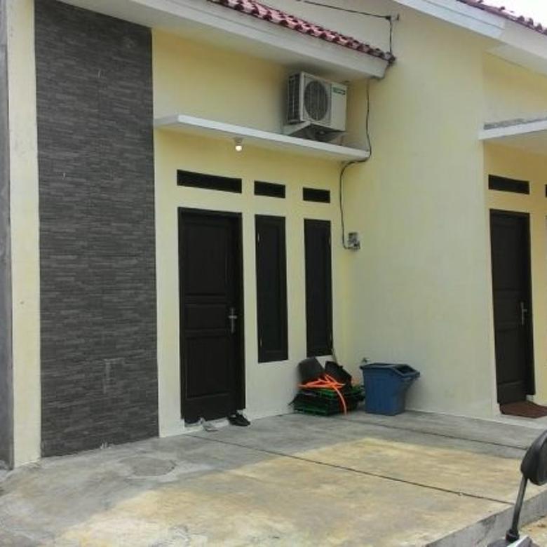 Rumah Baru Semi CLUSTER PANCORAN MAS Dekat Angkot ke STASIUN