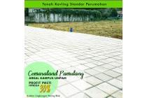 Tanah Kavling Cemaraland Luas 163m2 Dekat RSUD Tangsel