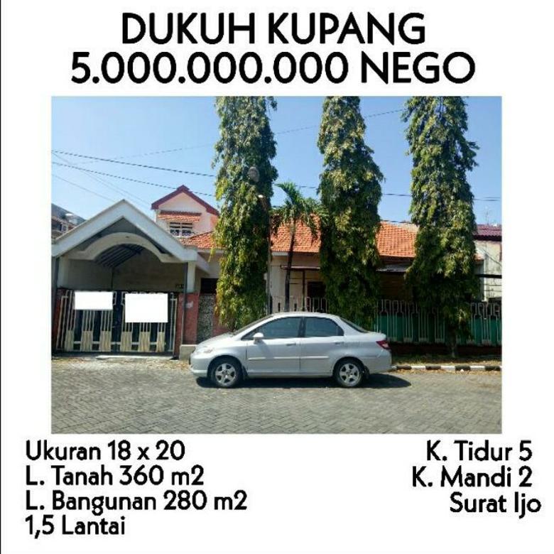Dukuh Kupang Siap Huni Luas Surabaya barat dekat tol satelit