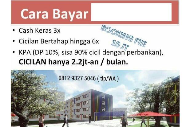 Rp214jt Apartemen Dijual