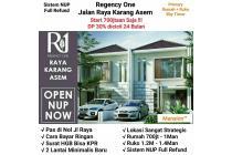 Dijual Rumah Baru Raya karang asem Surabaya Murah!!!