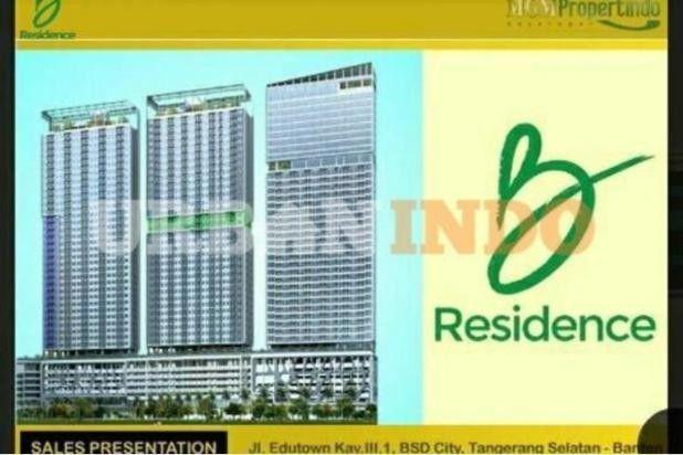 Dijual Apartemen Strategis di B Residence BSD City, Tangerang 12165132