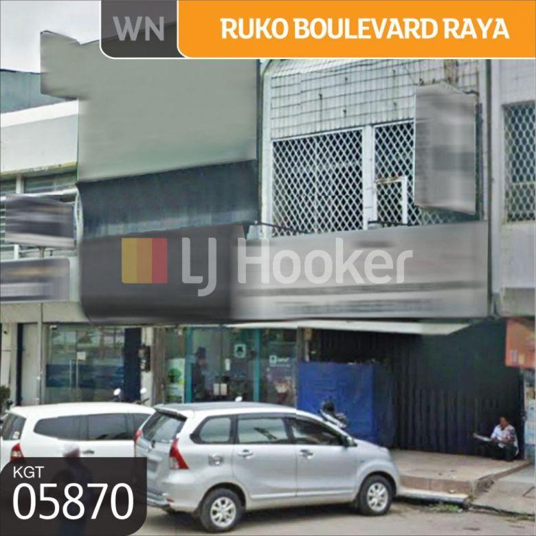 Ruko Jl. Boulevard Raya, Kelapa Gading, Jakarta Utara