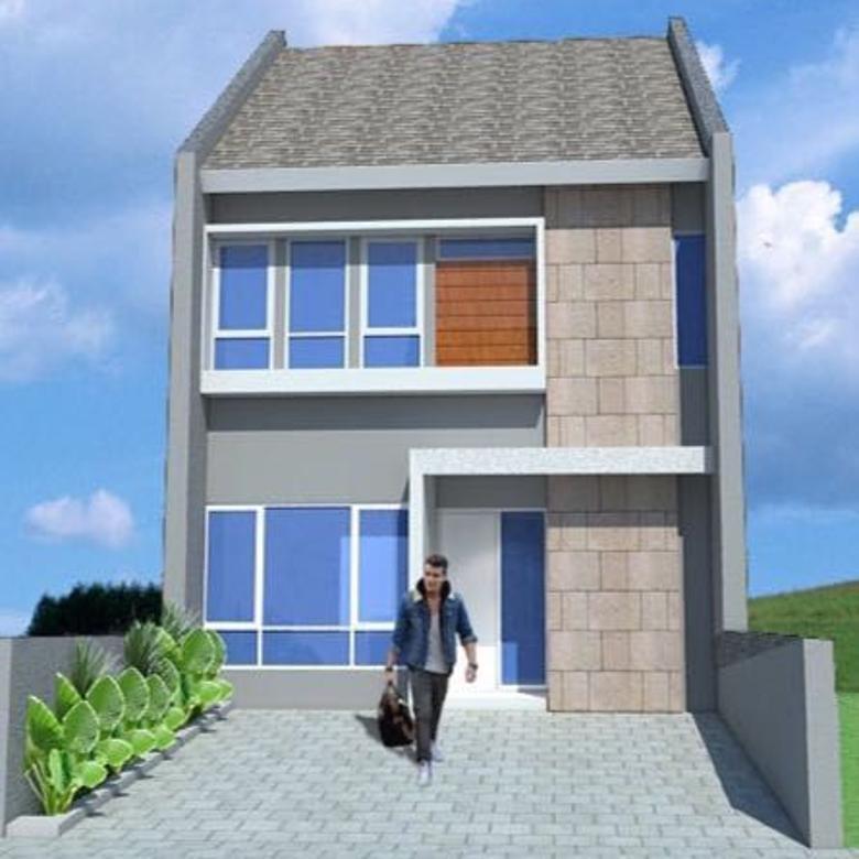Dijual Rumah Baru 2 Lantai Jl Gitar