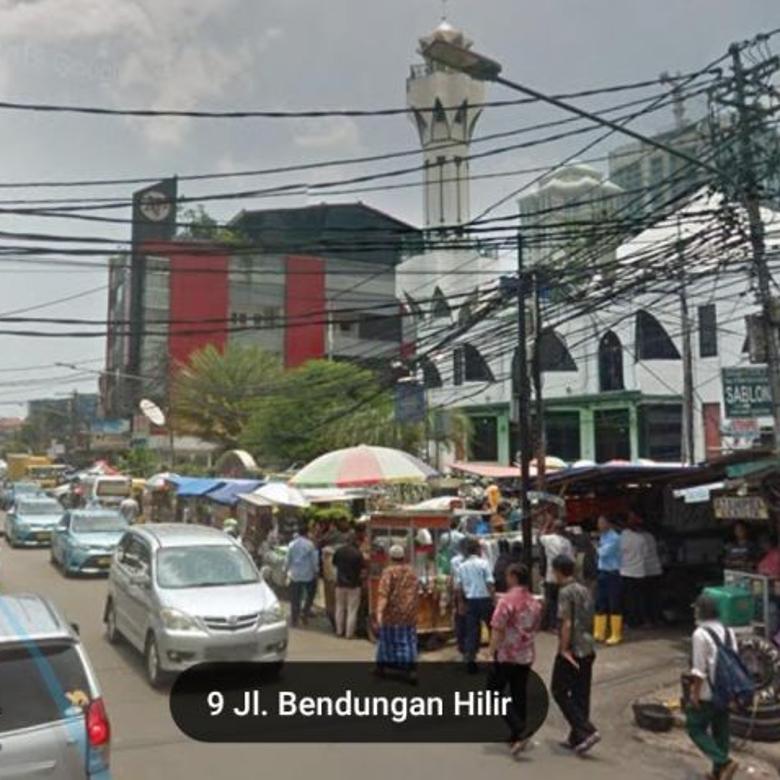 Tanah 3500 meter di BENDUNGAN HILIR, Jakarta Pusat