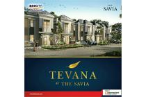 Rumah dijual di bsd harga 1.1m Tevana at the Savia,bebas banjir, strategis
