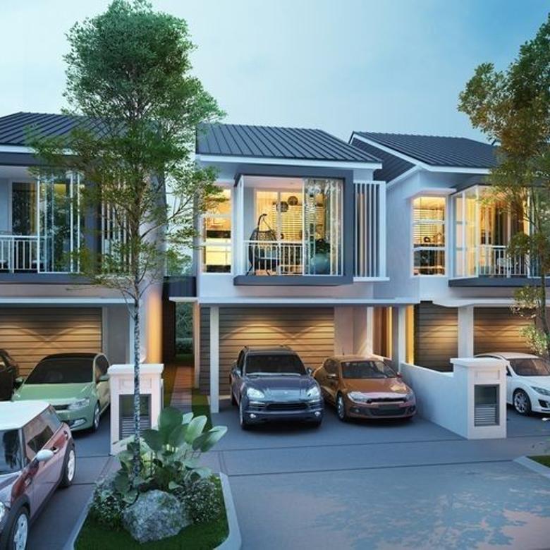 Rumah Villa Free Desain di Cigading Sayap Dago Resort Bandung
