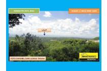 Jual Cepat Tanah Pecatu View GWK dan laut Jimbaran