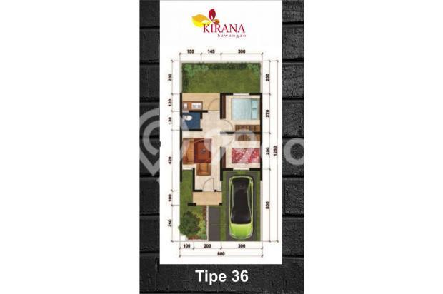 Unit Tersedia Kirana Sawangan KPR DP 0 %, Cicilan 6 % 17341059