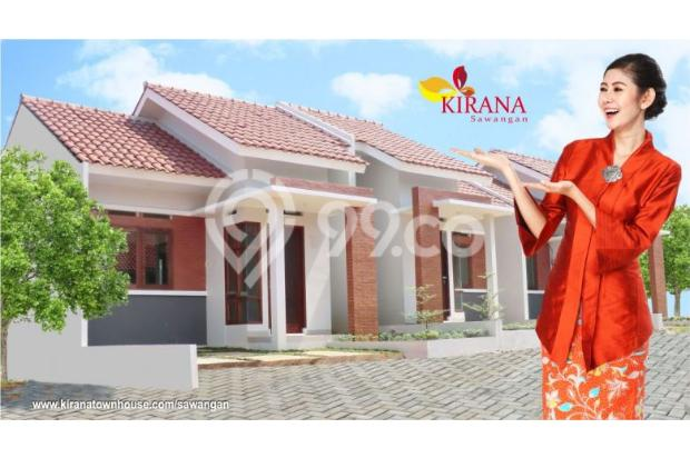 Unit Tersedia Kirana Sawangan KPR DP 0 %, Cicilan 6 % 17341065