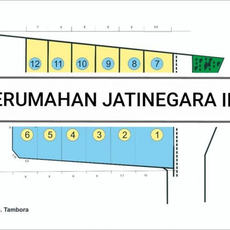 KAVLING SIAP BANGUN DI PERUM JATINEGARA INDAH, CAKUNG