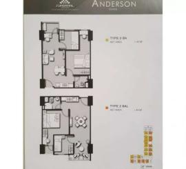 Apartement Anderson 2BAL Lantai 22