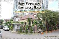 Rumah Hoek Pondok Indah Bagus & Murah Belakang PIM