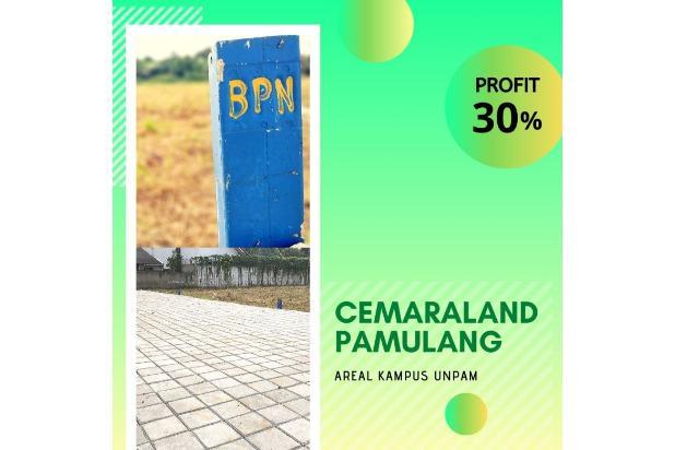 Rp629jt Tanah Dijual