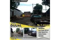 Tanah Jl. Merbabu Raya Mojosongo 6jt/m