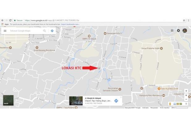 Tanah Kapling 100 Meter Dekat Stasiun KRL Citayam 14419239