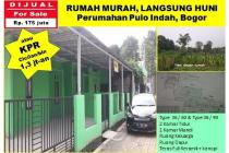 Rumah Murah Di Bogor, 85 juta langsung serah terima