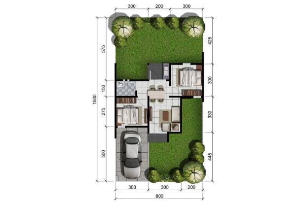 Rumah di Citra Indah City, Ebony 38/120 Dp 5% 10148476
