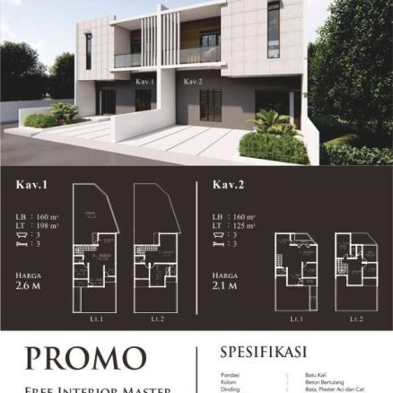 Rumah Baru Strategis @Setra Dago Antapani