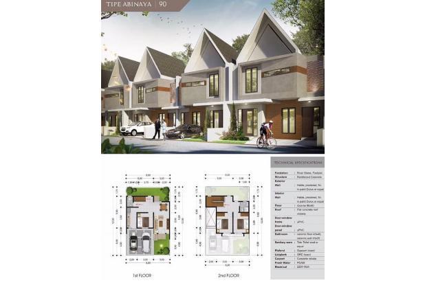 Denah rumah Abinaya 90 15830205