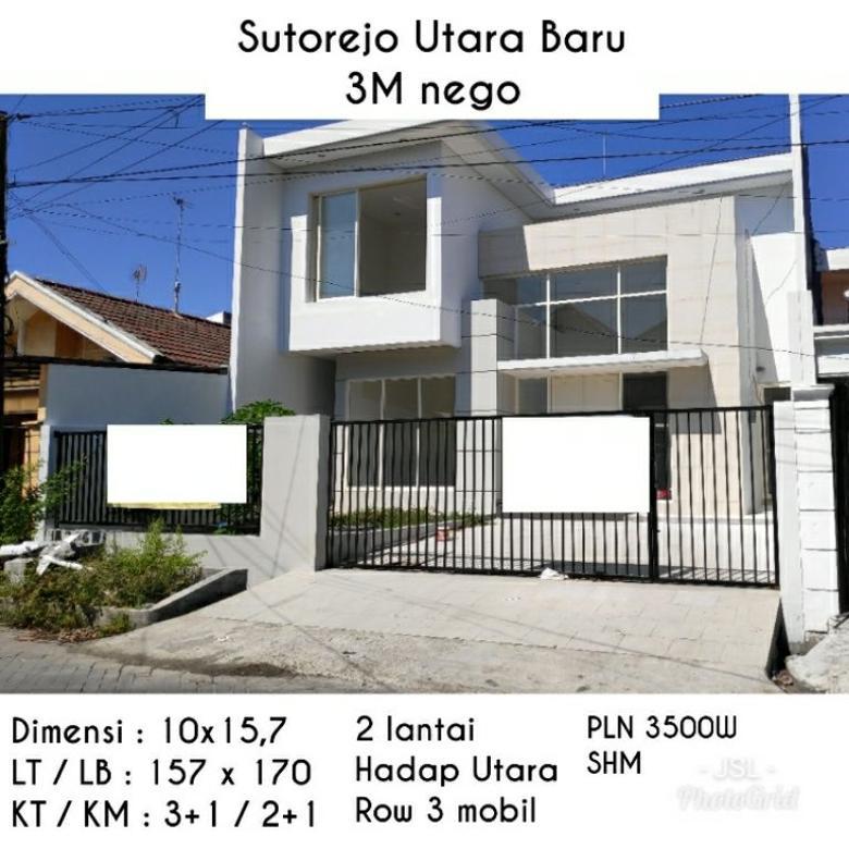 Rumah murah sutorejo utara baru mulyorejo surabaya baru gress