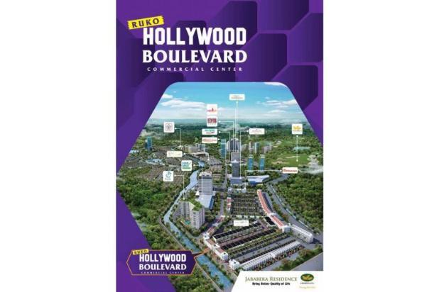 ruko terbaru dan terbaik di movieland jababeka - hollywood boulevard