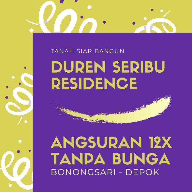 Kavling Tanah Sudah Pecah SHM di Duren Seribu Bojongsari Depok