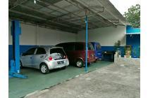 Bengkel mobil aktip + rumah ciputat tangerang selatan