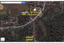 Tanah Luas Cocok Untuk Perumahan di Pinggir Jalan Raya Gunung Pati