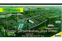 Grand Batavia Cluster 2Lantai hook/pinggir Jaya Group Dp.18x murah sekali