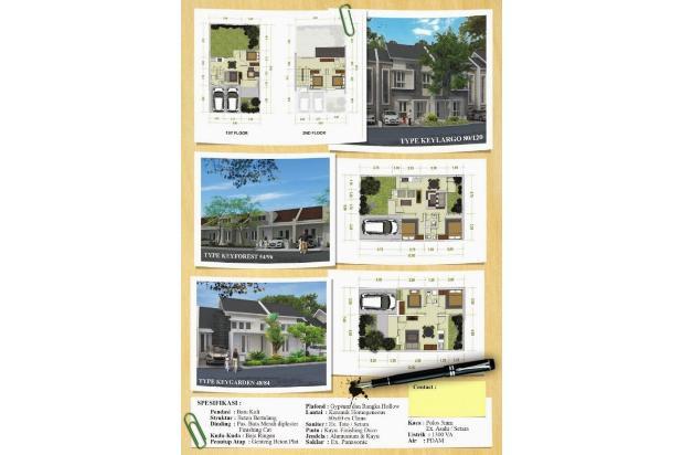 rumah siap huni tdp 15jt gratis semua biaya di cibinong bogor 13098879