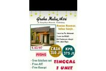 Rumah Baru, Diskon 25 Jt, Free Kitchen Set, AC & Kanopy Elang Tembalang SMG