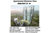 apartemen westown view wiyung surabaya nol jalan dp cicil